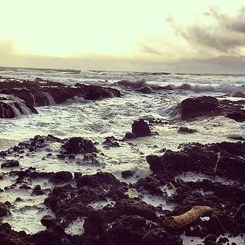 Cape Perpetua #oregon #coast #beach by Julia Goldberg