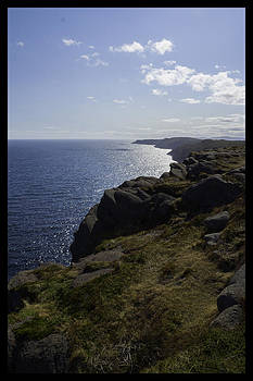 Cape Spear Coast line  by Vincent Dwyer