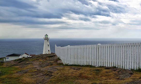 Cape Spear Lighthouse by Claudio Bacinello