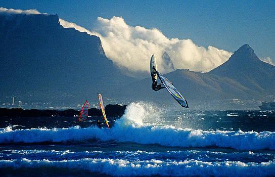Dennis Cox - Cape windsurfer