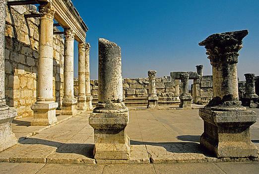 Dennis Cox - Capernaum synagogue