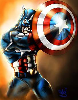 Capitan America by Alex Damage