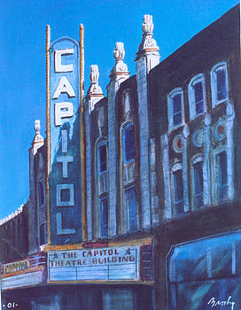 Capitol Theatre by William Brody