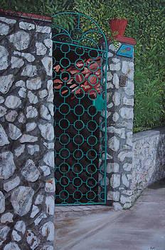 Capri Gate by Steven Fleit