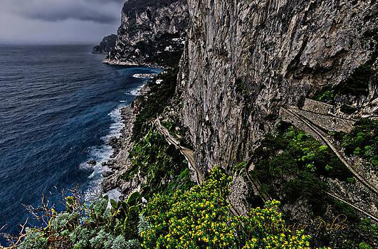 Enrico Pelos - CAPRI Krupp path rocks coast