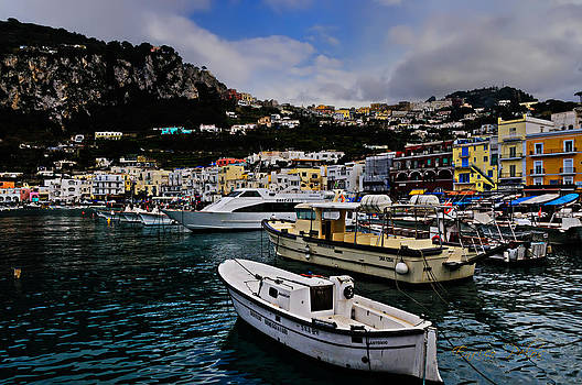 Enrico Pelos - CAPRI The harbour