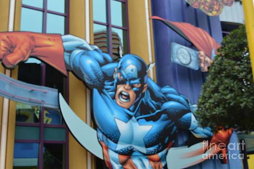 Captain America by Janice Spivey