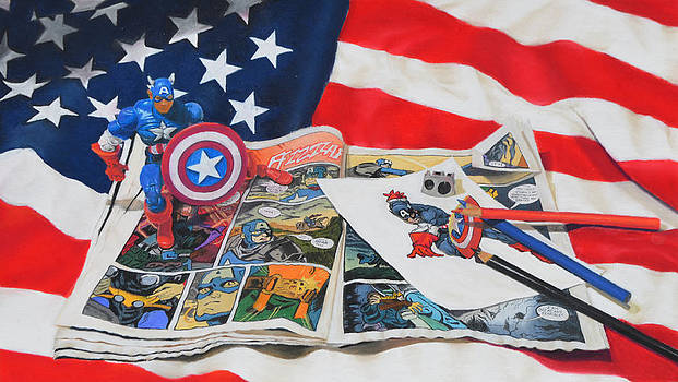 Captain America by Joanne Grant