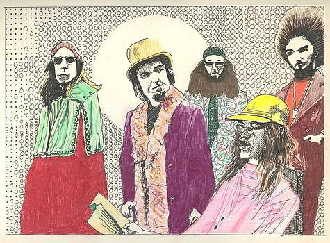 Captain Beefheart and His Magic Band by Ralf Schulze
