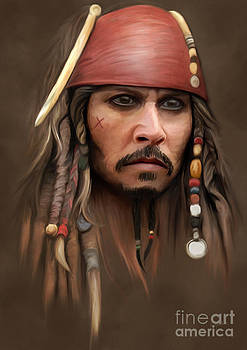 Captain Jack Sparrow by Ivan  Pawluk