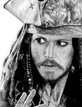 Captain Jack Sparrow by Kayleigh Semeniuk