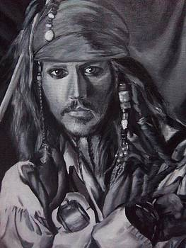 Captain Jack Sparrow by Lori Keilwitz