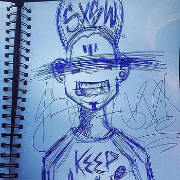 Car Ride Doodles #sxsw 14 !!!! by Darius Wilson