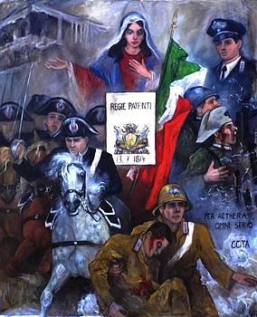 Carabinieri 200 year Jubilee by Elisabeth Nussy Denzler von Botha