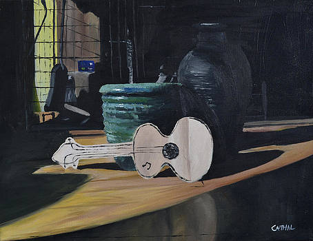 Cardboard Guitar by Cathal Gallagher