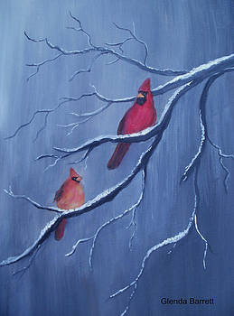 Cardinals by Glenda Barrett
