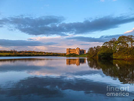 Carew Castle Pembrokeshire Wales by Corinne Johnston