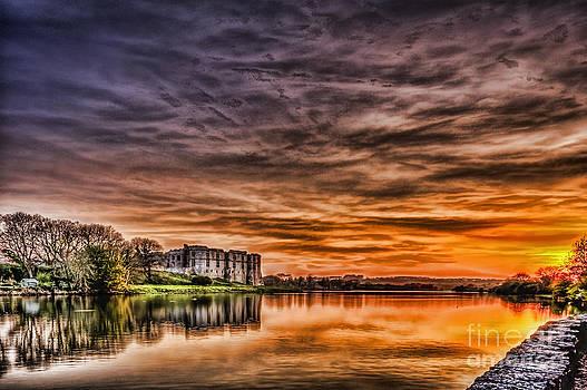 Steve Purnell - Carew Castle Sunset 2