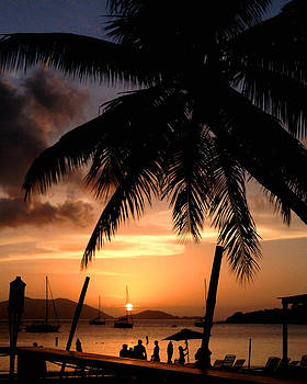 Caribbean Sunset by Ed Selby