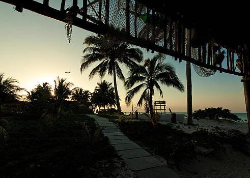 Caribbean Sunset II by Aurica Voss