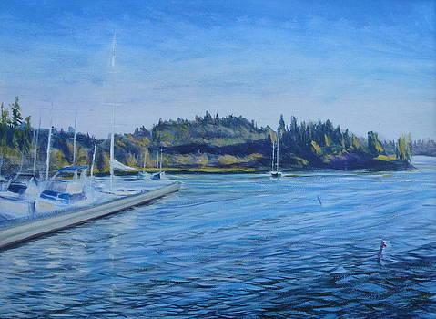 Carilllon Point Marina by Charles Smith