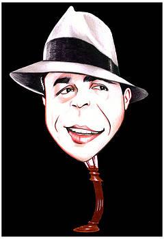 Carlos Gardel by Diego Abelenda