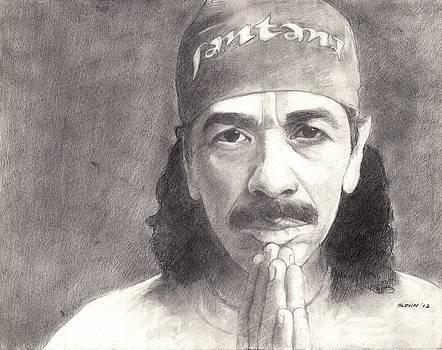 Carlos Santana by Glenn Daniels