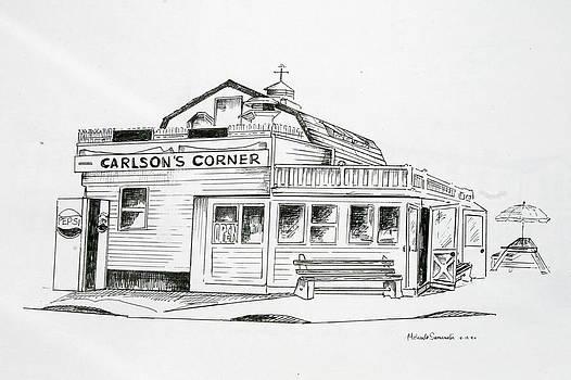 Carlsons Corner Manasquan by Melinda Saminski