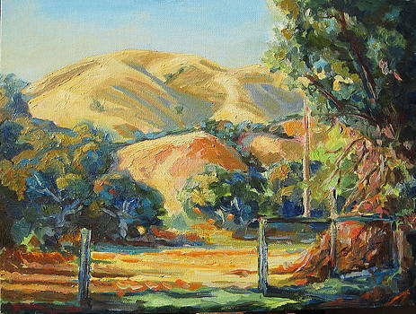 Carmel California Hills by Thomas Bertram POOLE