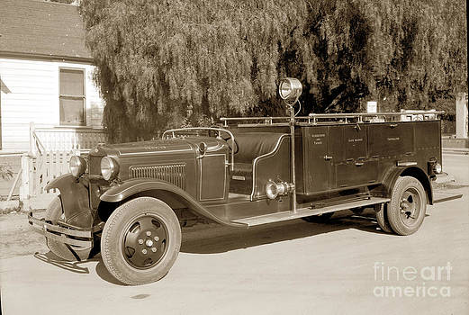California Views Mr Pat Hathaway Archives - Carmel Fire Department engine No. 3  circa 1933