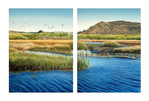 Carmel Lagoon by Logan Parsons