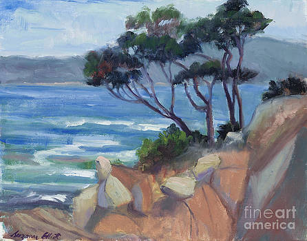 Carmel View from Point Lobos by Suzanne Elliott