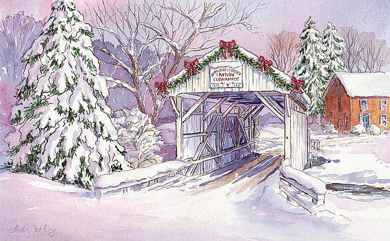 Carmichaels Covered Bridge by Leslie Fehling