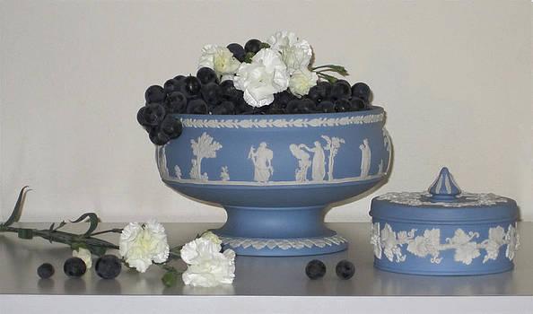 Carnation Grape Togetherness by Good Taste Art