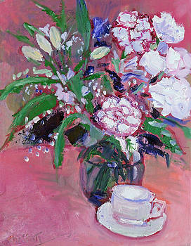 Carnations For My Love by Sarah Sheffield