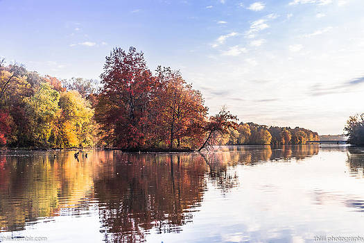 Carnegie Lake by Theodore Lewis