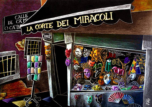 Arte Venezia - CaRneVaLe Di VeNeZia - Masks Venice Carnival