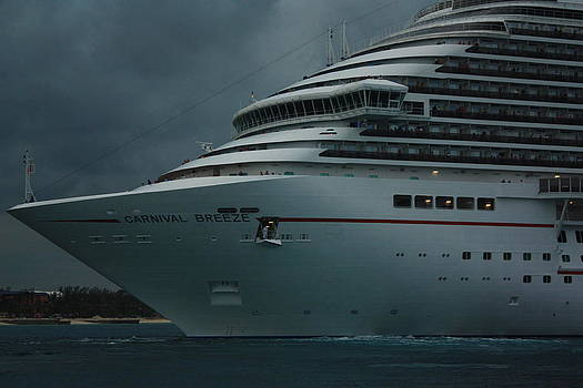 Carnival Breeze by Richard Stillwell