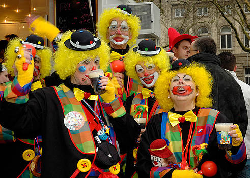 Carnival in Duesseldorf Germany 2007 by David Davies