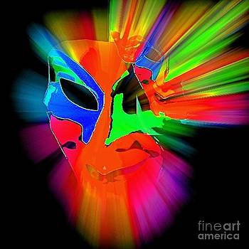 Carnival Mask in Abstract by Blair Stuart