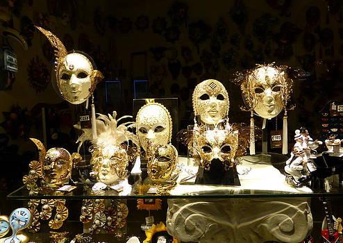 Carnival Masks by Bishopston Fine Art