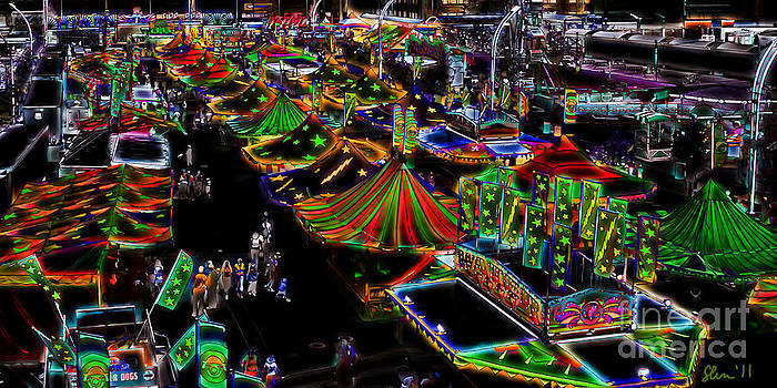 Kathi Shotwell - Carnival - Midway West