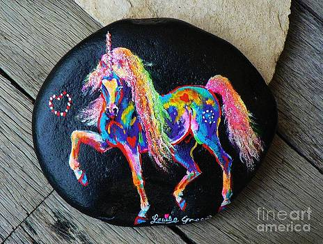 Rock 'N' Ponies - Carnivale Pony by Louise Green
