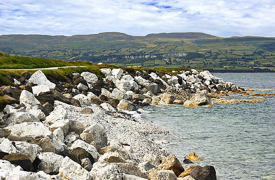 Jane McIlroy - Carnlough Bay Antrim Northern Ireland