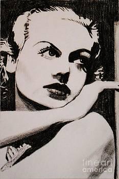 Carole Lombard  by Bonnie Cushman