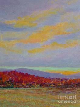 Carolina Autumn Sunset by Gail Kent