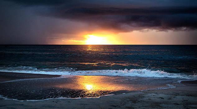 Carolina Beach October Sunrise by Phil Mancuso