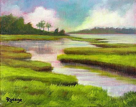 Carolina Marsh by Bernie Rosage Jr
