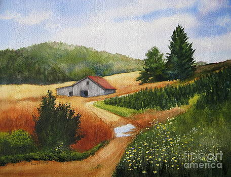 Carolina Tree Farm by Shirley Braithwaite Hunt