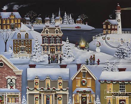 Caroling in Winterberry by Catherine Holman